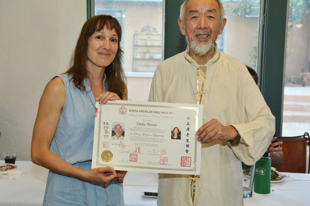 Dr Li Ding et Emilie Breton
