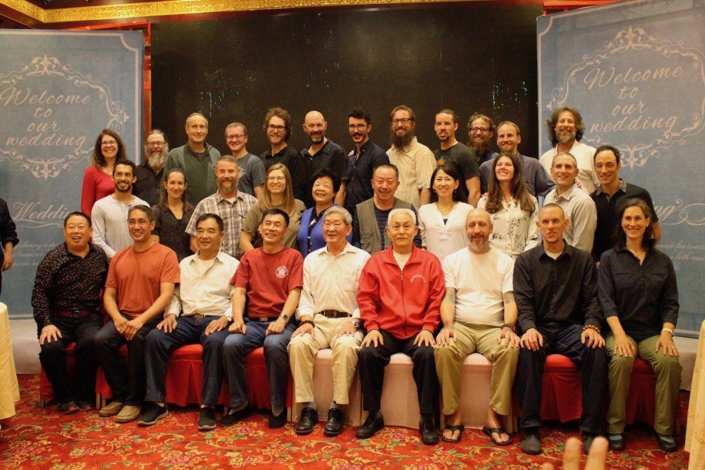 L'Équipe du Centre de recherche Gongfu de Montréal et de NATSTA en Chine